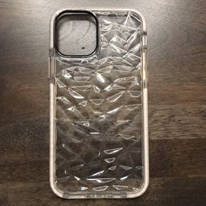 iPhone 11 Clear Beveled Case Various Sizes